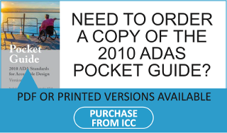 Need to order a copy of the 2010 ADAS Pocket Guide? Purchase from ICC