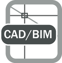 Cad bim file icon